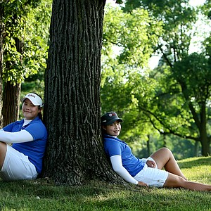 Ariya Jutanugarn and Moriya Jutanugarn photographed during the 2011 U. S. Girls Junior at Olympia Fields. The Jutanugarn sisters had an amazing 2011. Ariya won the U. S. Girls Junior and was named Player of the Year and Moriya made it to the finals of the U. S. Women's Amateur, losing to Danielle Kang.