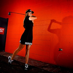 LPGA's Paula Creamer at a Golfweek for Her shoot in 2011. Creamer had 10 top 10 finishes in 2011.