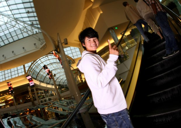 Yani Tseng photographed early in the year at The Mall at Millenia in Orlando, Fla. had a dominating 2011 season, including winning the Rolex Player of the Year award.