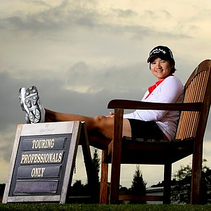 Yani Tseng photographed at Lake Nona Golf and Country Club during an instruction piece for Golfweek. Tseng won 12 times worldwide in 2011.