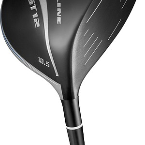The new Adams Golf Speedline Fast 12 driver. Standard length of the Fast 12 is 46 inches. The stock shaft for the Fast 12 and Fast 12 LS is the same as the fairway woods, the Grafalloy ProLaunch Blue with Speed Coat Technology.
