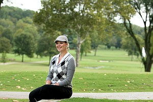 May Wood-Frederiksen photographed at Hillwood Country Club. Wood-Frederiksen was an SEC champion while at Vanderbilt.