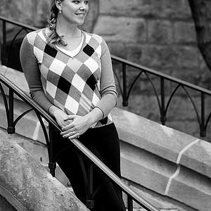 May Wood-Frederiksen photographed on campus at Vanderbilt University.