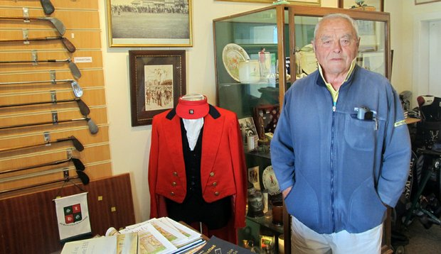 Scottish golf historian Archie Baird.