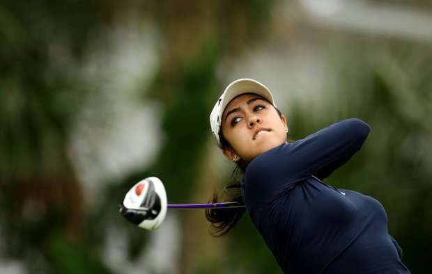 Christina Ocampo posted a score of 80 in the first round.