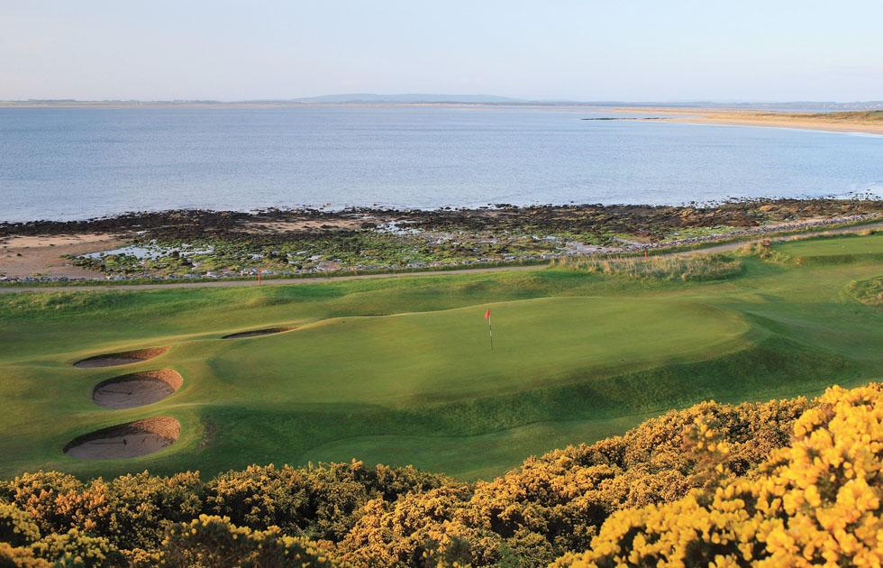 No. 10 hole at Royal Dornoch in Scotland.