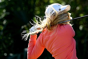 Charley Hull during the final round of the 86th South Atlantic Amateur at Oceanside Country Club.