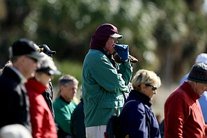 The chilly weather didn't keep spectators away during the final round of the 86th South Atlantic Amateur at Oceanside Country Club.