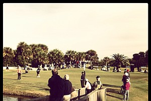 No. 16 during the final round of the 86th South Atlantic Amateur at Oceanside Country Club.