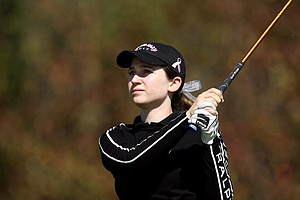 Marissa Kay during the second round of the Annika Invitational.