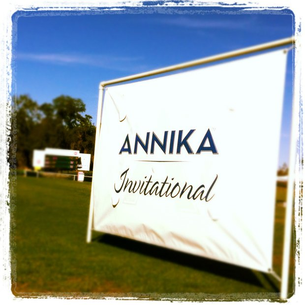 The 2012 Annika Invitational at Reunion Resort, which has 72-player field. Alison Lee and Samantha Wagner are tied for the lead.