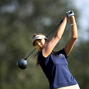 Alison Lee during the final round of the Annika Invitational at Reunion Resort.