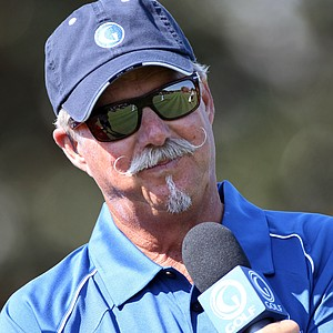 Gary McCord reports on the action for The Golf Channel during the second day of the Tavistock Cup at Isleworth Golf & Country Club.