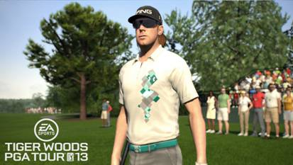 Hunter Mahan, as seen in Tiger Woods PGA Tour 13