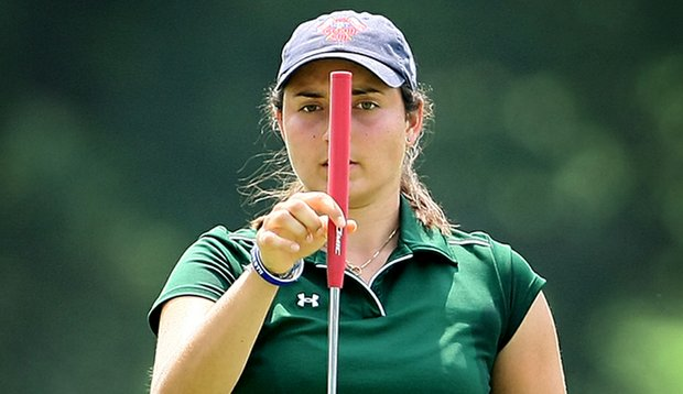 Emily Tubert was one of the final three players to be named to the eight-woman Curtis Cup team.