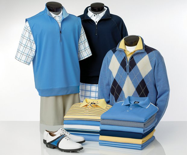 The spring apparel line from FootJoy.