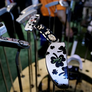 Edel offers a nearly endless array of custom options in its putter line, including six heads, 15 necks, many lofts and lies, and customized finishes and markings.