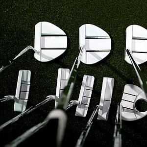 TaylorMade offers an assortment of Ghost putters in white, a color popularized with its drivers, fairway metals and hybrids over the past year.