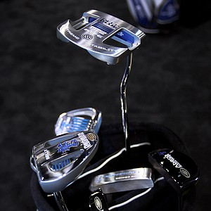 Rife still offers putters in its traditional chrome finish as well as the new Tropical finish at the 2012 PGA Merchandise Show.