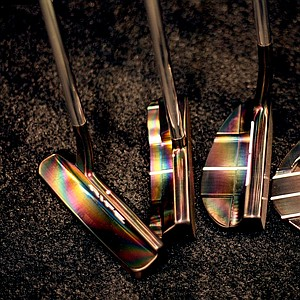 Rife's offerings include several putters in the company's new Tropical finish at the 2012 PGA Merchandise Show.