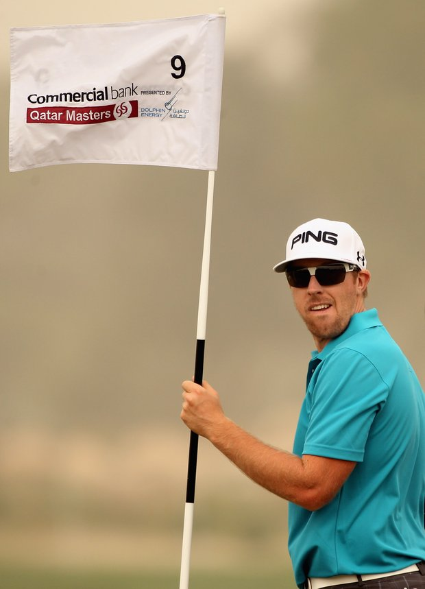 Hunter Mahan is playing this week in Qatar and will fly back to California next week to play at Pebble Beach.