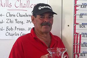 Ken Rudin, winner of 3rd Senior Flight