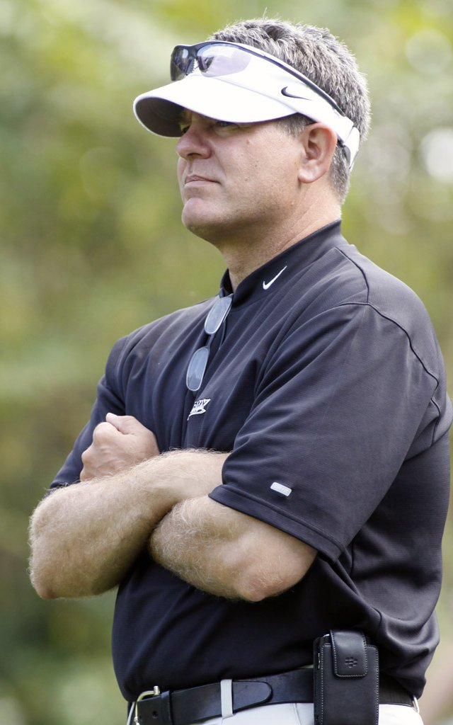 West Point men&#39;s golf coach Brian Watts