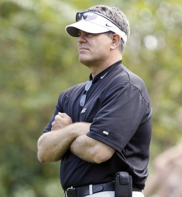 West Point men's golf coach Brian Watts