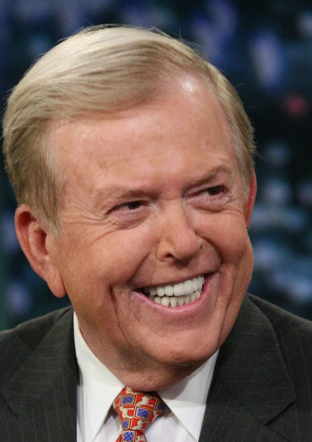 Lou Dobbs, Fox Business Network cable commentator. 