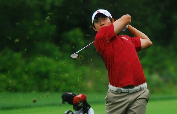 USC's Steve Lim during the 2011 NCAA Championship