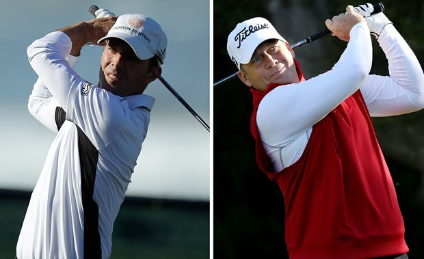 Mike Weir and Dudley Hart