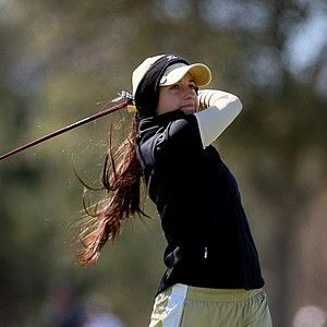 UCF's Jordyn Hage during the first round of the UCF Challenge at Red Tail.