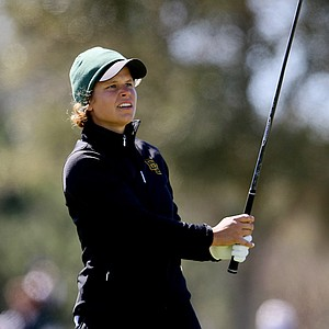 Baylor's Valerie Sterneback during the first round of the UCF Challenge. Sterneback posted a 71 on Sunday.