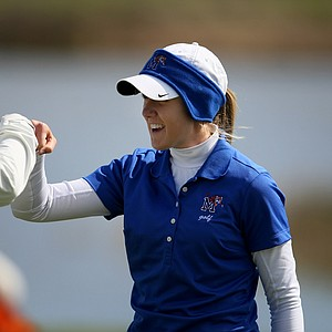 Ashleigh Whisenant of Memphis during the first round, she posted a 79.