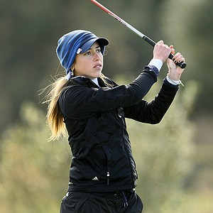 University of Texas - San Antonio's Paola Valerio during the first round. Valerio posted a 78 in the first round.