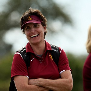 Former LPGA player, Michele Redman, is the current head coach of Minnesota.