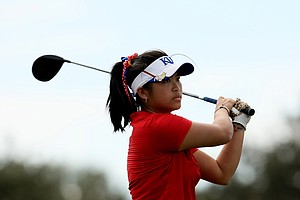 Thanuttra Boonraksasat of Kansas during the second round of the UCF Challenge at Red Tail Golf Club in Sorrento, Fla.