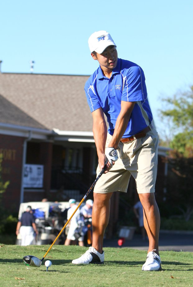 Middle Tennessee State's Andrew Cho