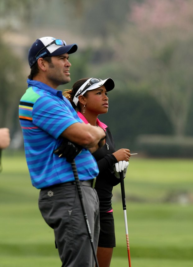 MLB star Johnny Damon played in the All-Star Celebrity Golf Invitational with professional golfer, Ginger Howard, at Bay Hill Club and Lodge.