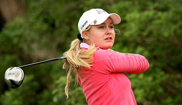 Charley Hull during the 2012 Sally Amateur.