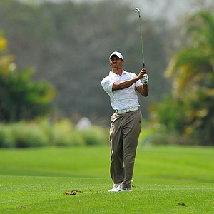 Tiger Woods during the first round of the Honda Classic.