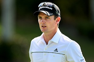 Justin Rose on Friday at the Honda Classic at PGA National. Rose is T1 heading into the weekend.