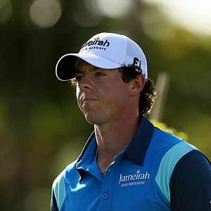 Rory McIlroy on Friday at the Honda Classic at PGA National in Palm Beach Gardens, Fla. He is T3.