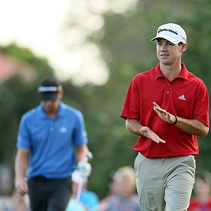 Brian Harman during round 3 of the Honda Classic.