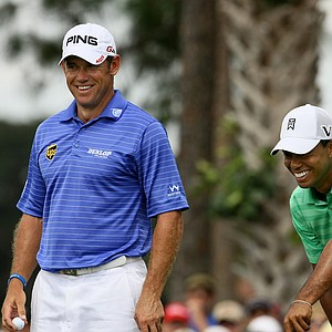 Tiger Woods and Lee Westwood were paired together in the third round of the Honda Classic. It was the third consecutive time they were put in the same group.