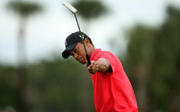 Tiger Woods on Sunday at the Honda Classic at PGA National in Palm Beach Gardens, Fla.