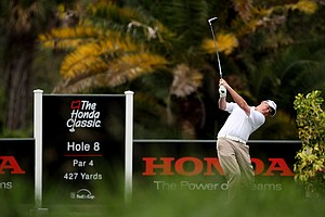 Ted Potter Jr. on Sunday at the Honda Classic at PGA National in Palm Beach Gardens, Fla.