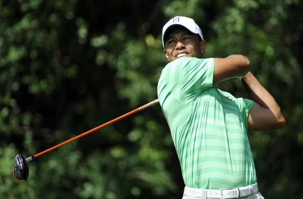 Tiger Woods will tee off at 9:20 a.m. EST in the fourth round at the Honda Classic.