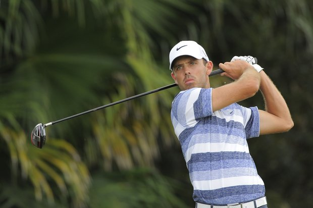 Charl Schwartzel during the first round of the WGC-Cadillac Championship.