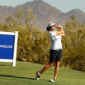 Maria Hernandez on Tuesday during a practice round of RR Donnelley LPGA Founders Cup at Wildfire at Desert Ridge.